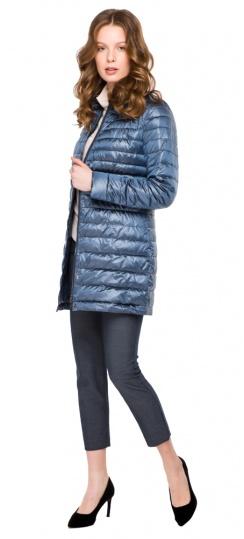 """Куртка с потайными карманами осенне-весенняя женская цвет ниагара модель 41323 Braggart """"Angel's Fluff"""" фото 1"""