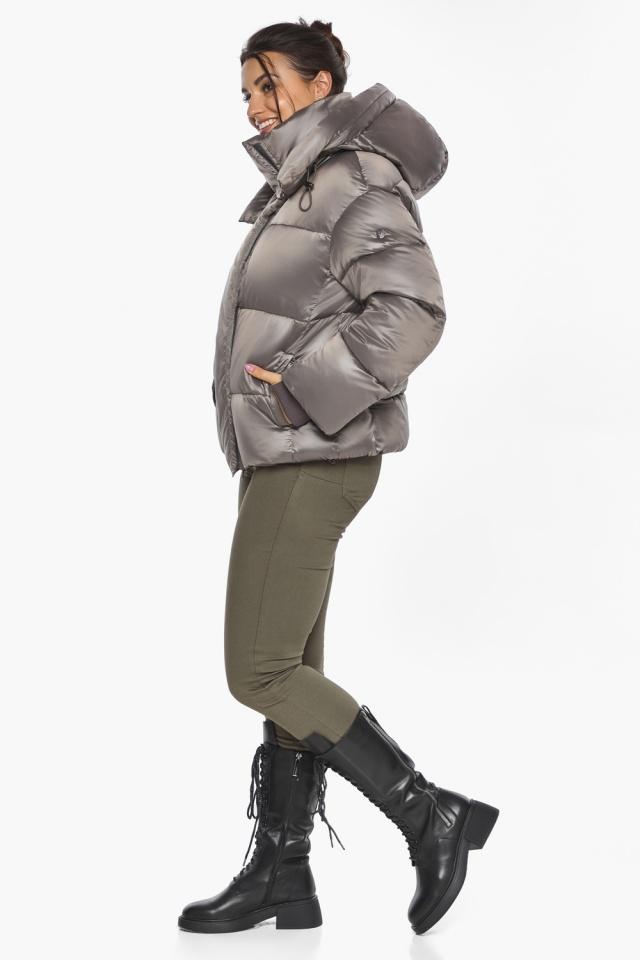 """Куртка с манжетами капучиновая женская модель 44210 Braggart """"Angel's Fluff"""" фото 7"""