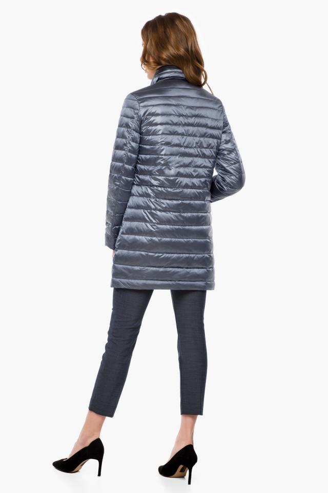 """Куртка з відкладним коміром жіноча осінньо-весняна колір маренго модель 41323 Braggart """"Angel's Fluff"""" фото 5"""