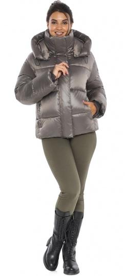 """Куртка с манжетами капучиновая женская модель 44210 Braggart """"Angel's Fluff"""" фото 1"""