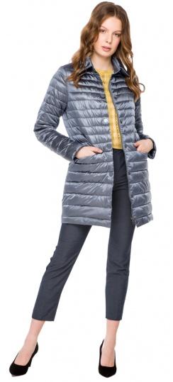 """Куртка с отложным воротником женская осенне-весенняя цвет маренго модель 41323 Braggart """"Angel's Fluff"""" фото 1"""
