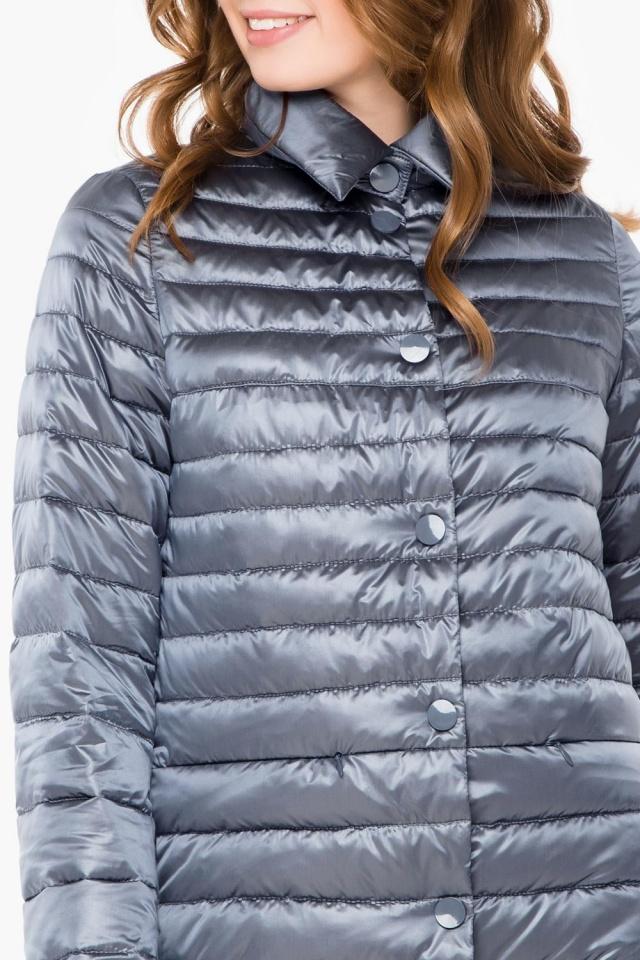 """Куртка з відкладним коміром жіноча осінньо-весняна колір маренго модель 41323 Braggart """"Angel's Fluff"""" фото 6"""