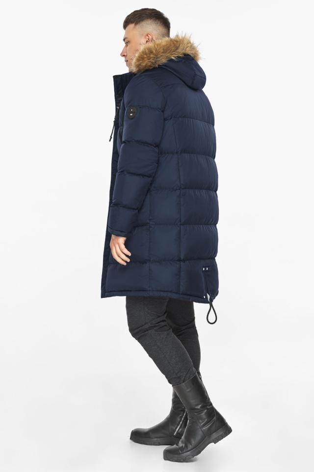 """Тёмно-синяя мужская практичная куртка для зимы модель 49318 Braggart """"Dress Code"""" фото 5"""