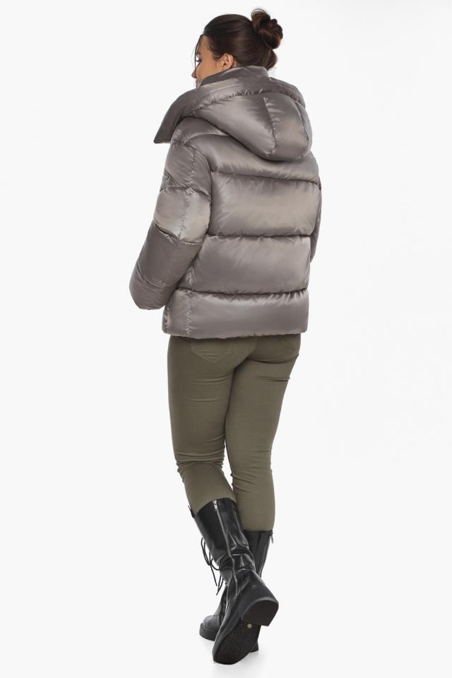 """Куртка с манжетами капучиновая женская модель 44210 Braggart """"Angel's Fluff"""" фото 8"""