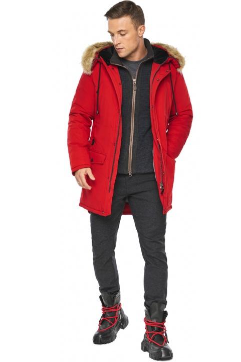 """Куртка – воздуховик красный зимний мужской модель 45062 Braggart """"Angel's Fluff Man"""" фото 1"""
