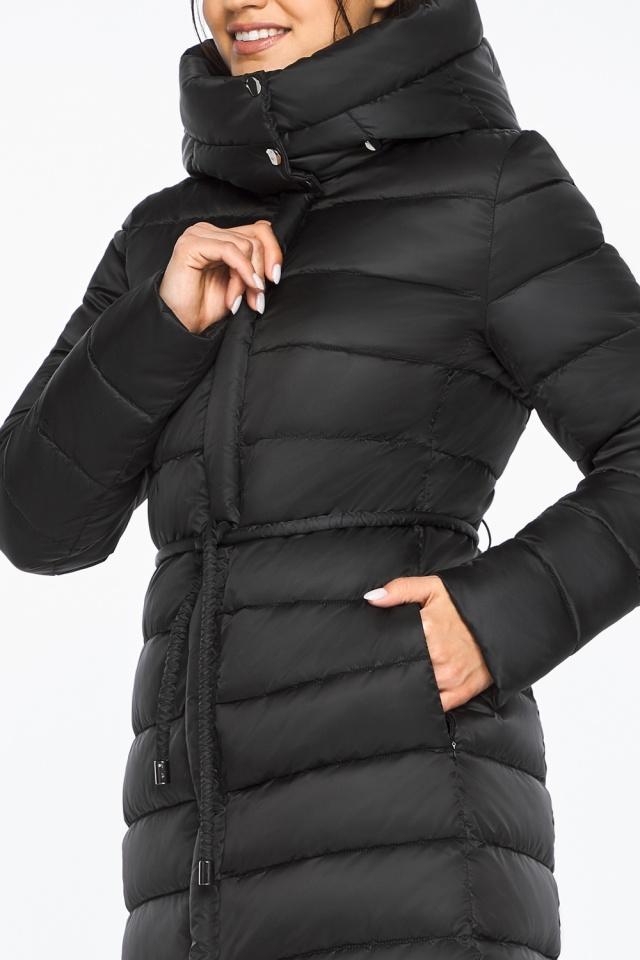"""Куртка удлиненная женская цвет черный модель 44860 Braggart """"Angel's Fluff"""" фото 7"""