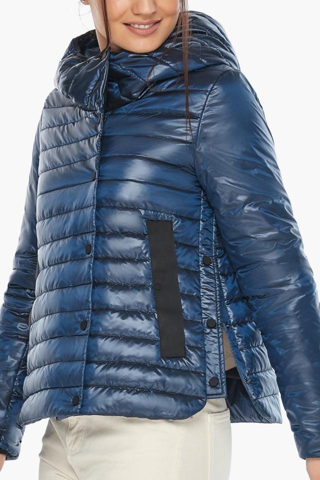 """Женская куртка осенне-весенняя оригинальная цвет ниагара модель 64150 Braggart """"Angel's Fluff"""" фото 7"""