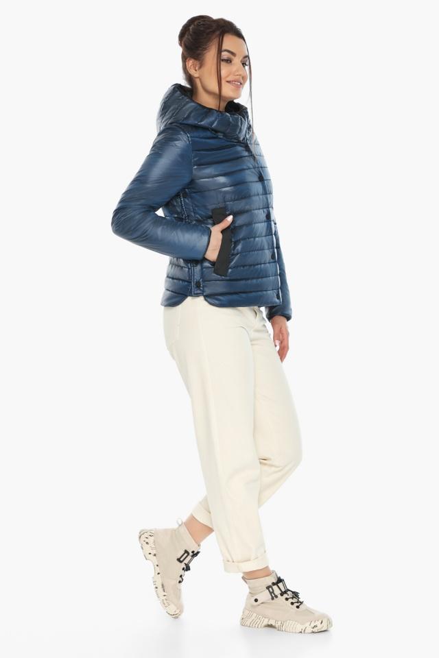 """Женская куртка осенне-весенняя оригинальная цвет ниагара модель 64150 Braggart """"Angel's Fluff"""" фото 2"""