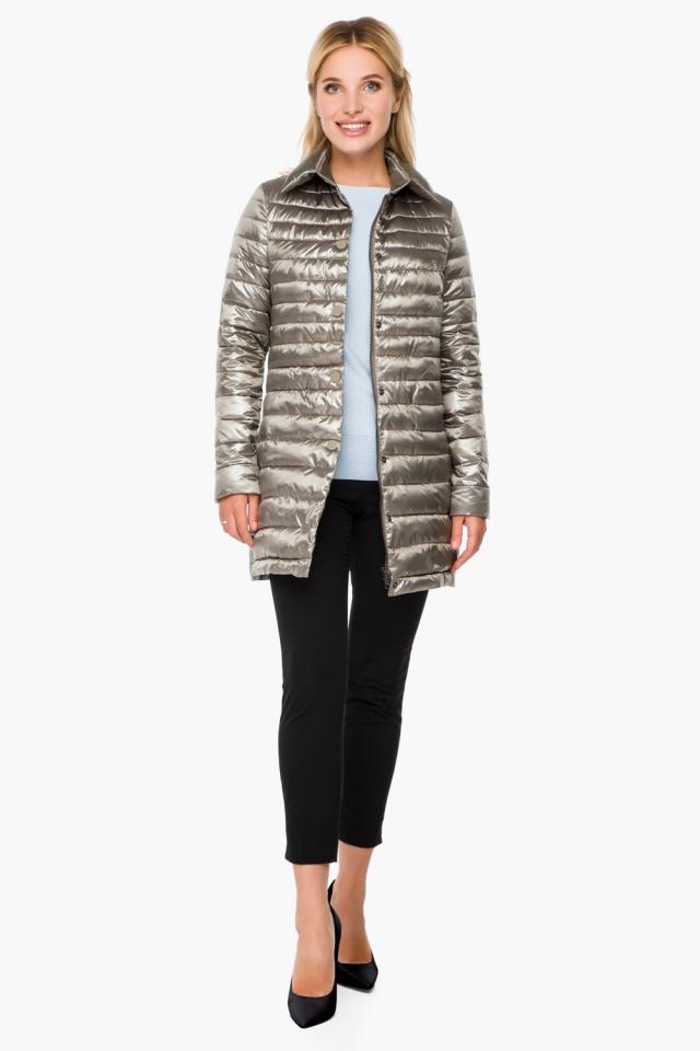 """Стильная кварцевая куртка осенне-весенняя женская модель 41323 Braggart """"Angel's Fluff"""" фото 3"""