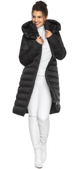 """Куртка удлиненная женская цвет черный модель 44860 Braggart """"Angel's Fluff"""" фото 1"""