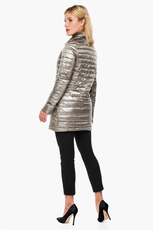 """Стильная кварцевая куртка осенне-весенняя женская модель 41323 Braggart """"Angel's Fluff"""" фото 5"""
