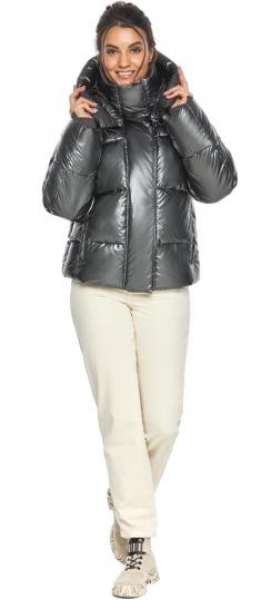 """Куртка женская модная цвет темное серебро модель 44210 Braggart """"Angel's Fluff"""" фото 1"""