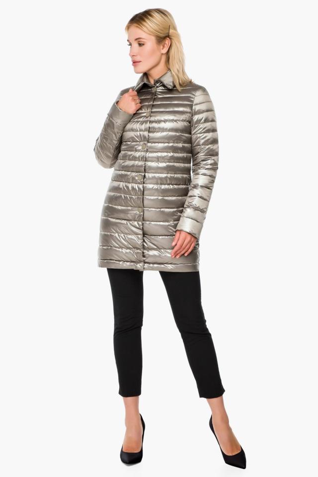 """Стильная кварцевая куртка осенне-весенняя женская модель 41323 Braggart """"Angel's Fluff"""" фото 2"""