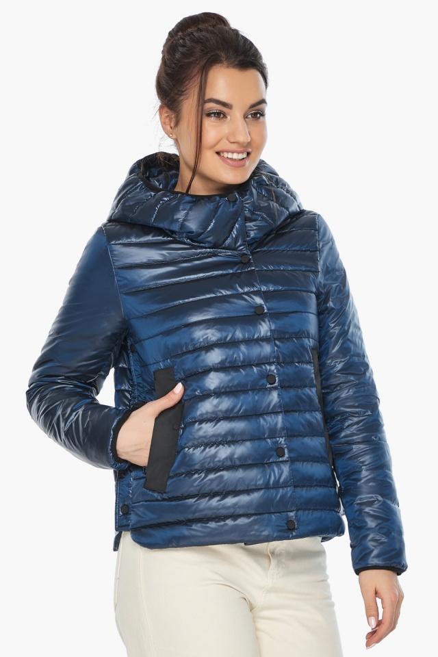 """Женская куртка осенне-весенняя оригинальная цвет ниагара модель 64150 Braggart """"Angel's Fluff"""" фото 3"""