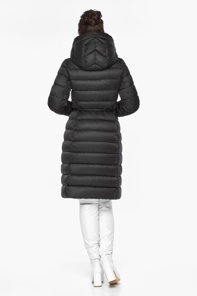 """Куртка удлиненная женская цвет черный модель 44860 Braggart """"Angel's Fluff"""" фото 6"""