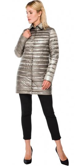 """Стильная кварцевая куртка осенне-весенняя женская модель 41323 Braggart """"Angel's Fluff"""" фото 1"""