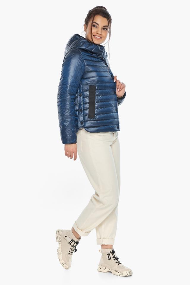 """Женская куртка осенне-весенняя оригинальная цвет ниагара модель 64150 Braggart """"Angel's Fluff"""" фото 4"""