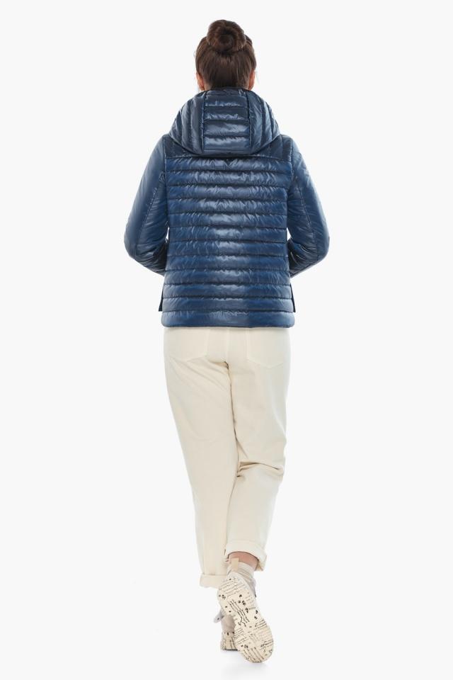 """Женская куртка осенне-весенняя оригинальная цвет ниагара модель 64150 Braggart """"Angel's Fluff"""" фото 6"""