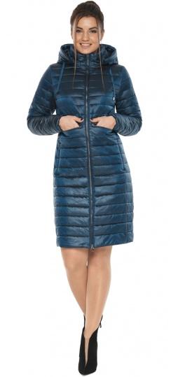 """Комфортная куртка женская осенне-весенняя цвет темная лазурь модель 68410 Braggart """"Angel's Fluff"""" фото 1"""
