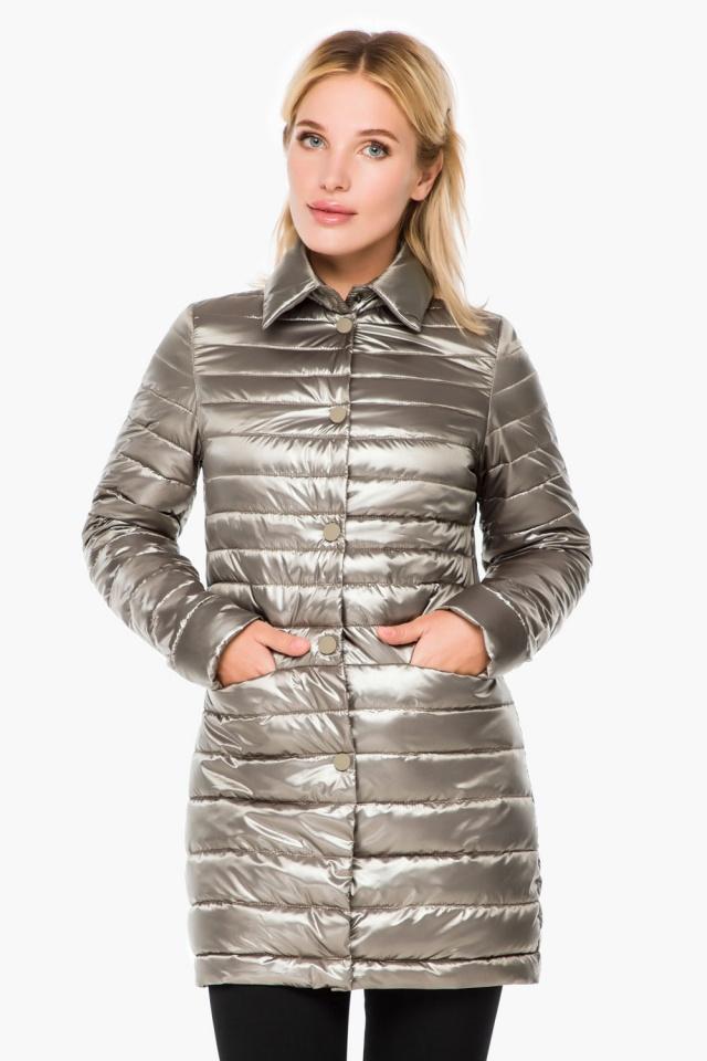 """Стильная кварцевая куртка осенне-весенняя женская модель 41323 Braggart """"Angel's Fluff"""" фото 4"""
