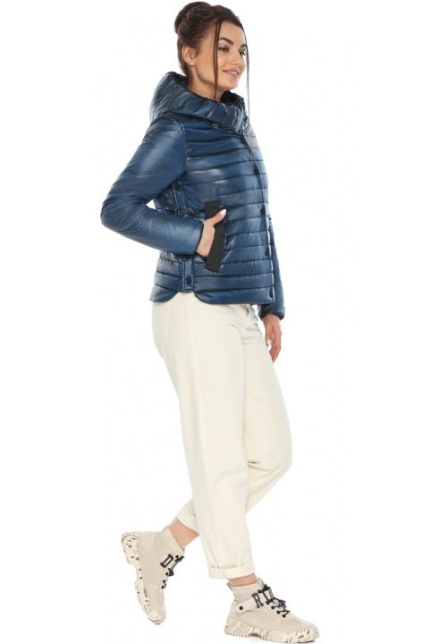 """Женская куртка осенне-весенняя оригинальная цвет ниагара модель 64150 Braggart """"Angel's Fluff"""" фото 1"""