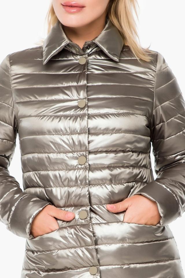 """Стильная кварцевая куртка осенне-весенняя женская модель 41323 Braggart """"Angel's Fluff"""" фото 6"""
