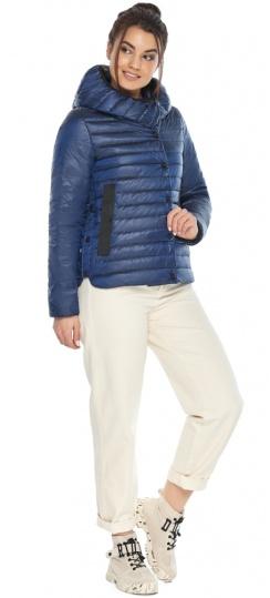 """Женская куртка сапфировая удобная на весну модель 64150 Braggart """"Angel's Fluff"""" фото 1"""