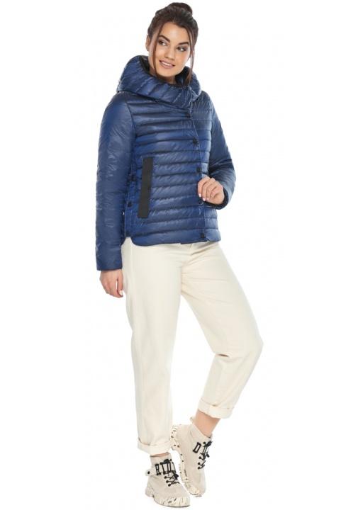 """Жіноча куртка сапфірова зручна на весну модель 64150 Braggart """"Angel's Fluff"""" фото 1"""