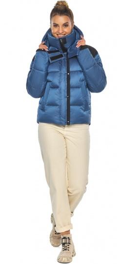"""Куртка удобная женская аквамариновая зимняя модель 57520 Braggart """"Angel's Fluff"""" фото 1"""