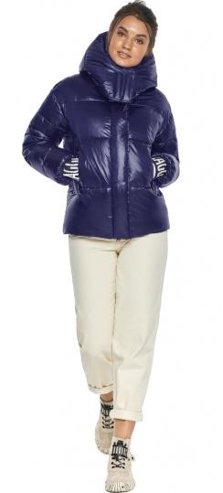 """Куртка синяя трендовая женская модель 44520 Braggart """"Angel's Fluff"""" фото 1"""