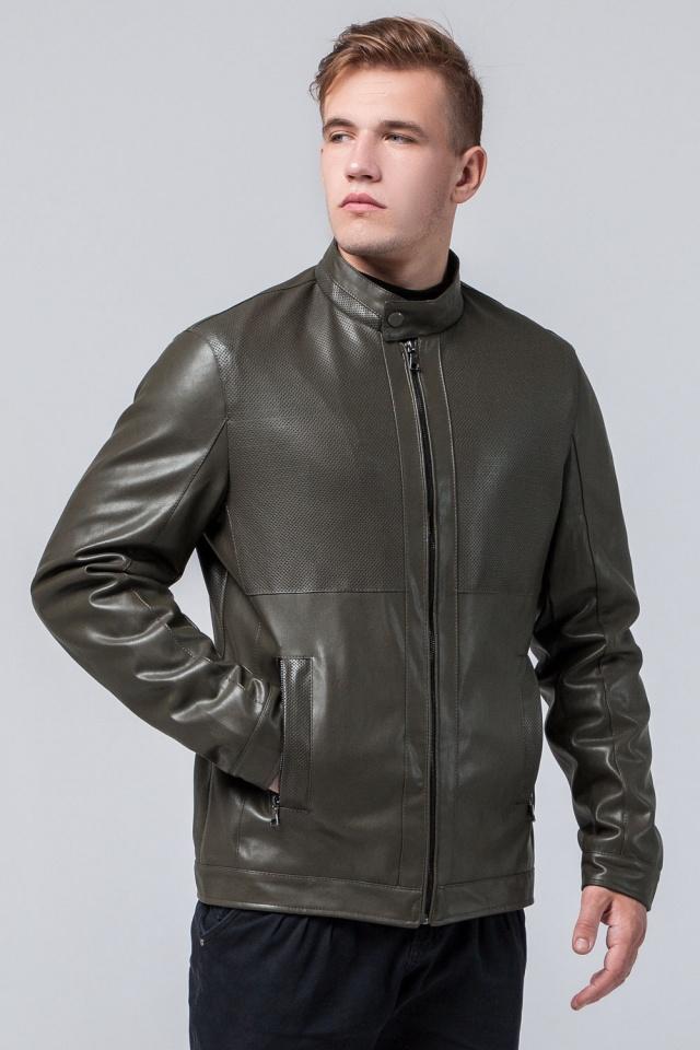 """Модная куртка на мальчика цвет хаки модель 2193 Braggart """"Youth"""" фото 3"""