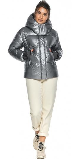 """Куртка с ветрозащитным клапаном женская цвет серебро модель 44520 Braggart """"Angel's Fluff"""" фото 1"""