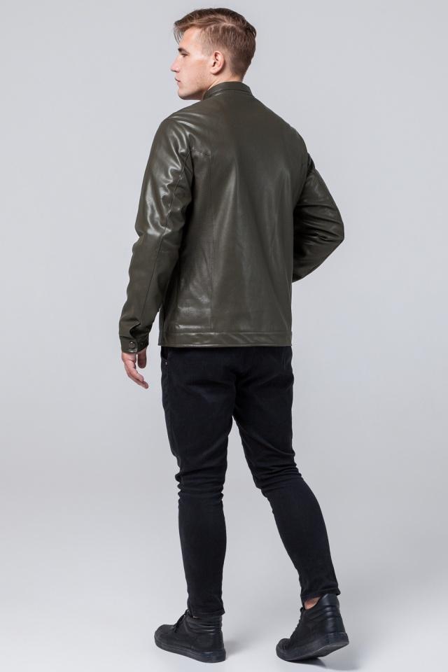"""Модная куртка на мальчика цвет хаки модель 2193 Braggart """"Youth"""" фото 5"""