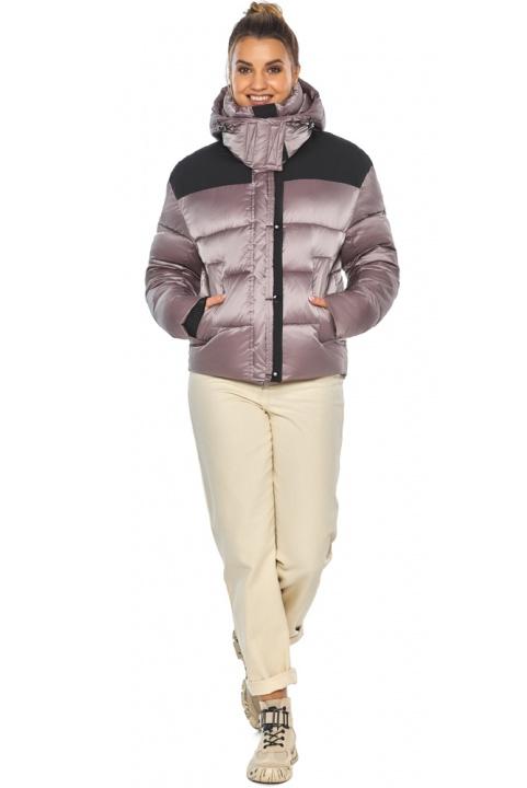 """Куртка пудровая практичная женская зимняя модель 57520 Braggart """"Angel's Fluff"""" фото 1"""