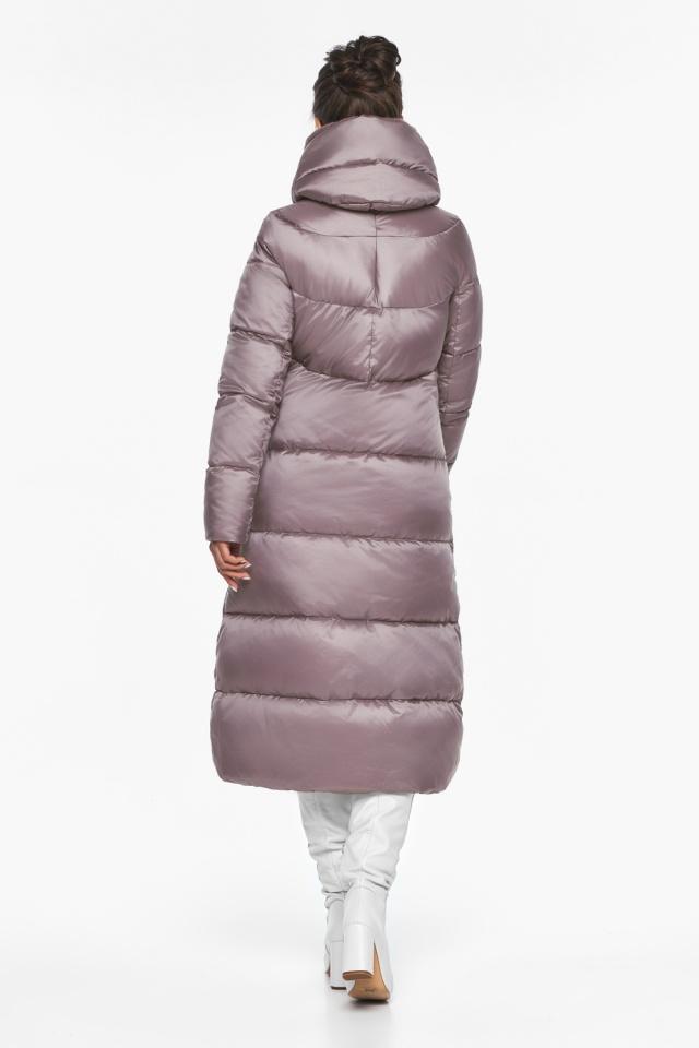 """Женская куртка с прорезными карманами цвет пудра модель 45085 Braggart """"Angel's Fluff"""" фото 5"""