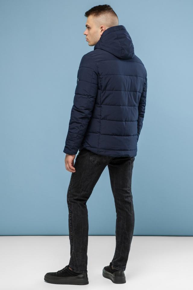 Зимова підліткова куртка тепла колір темно-синій модель 6009 Kiro Tokao фото 5