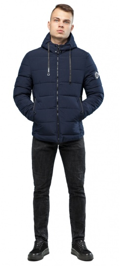 Куртка на мальчика зимняя тёмно-синяя модель 6009 Kiro Tokao фото 1