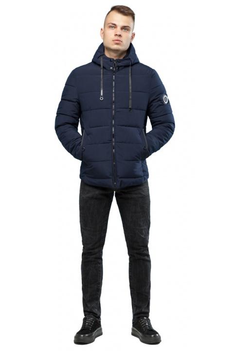 Куртка на мальчика зимняя тёмно-синяя модель 6009 Kiro Tokao – Ajento фото 1