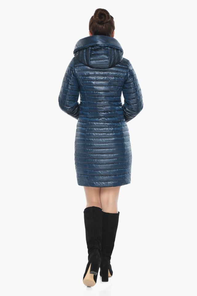 """Брендовая женская куртка осенне-весенняя цвета ниагара модель 66870 Braggart """"Angel's Fluff"""" фото 6"""