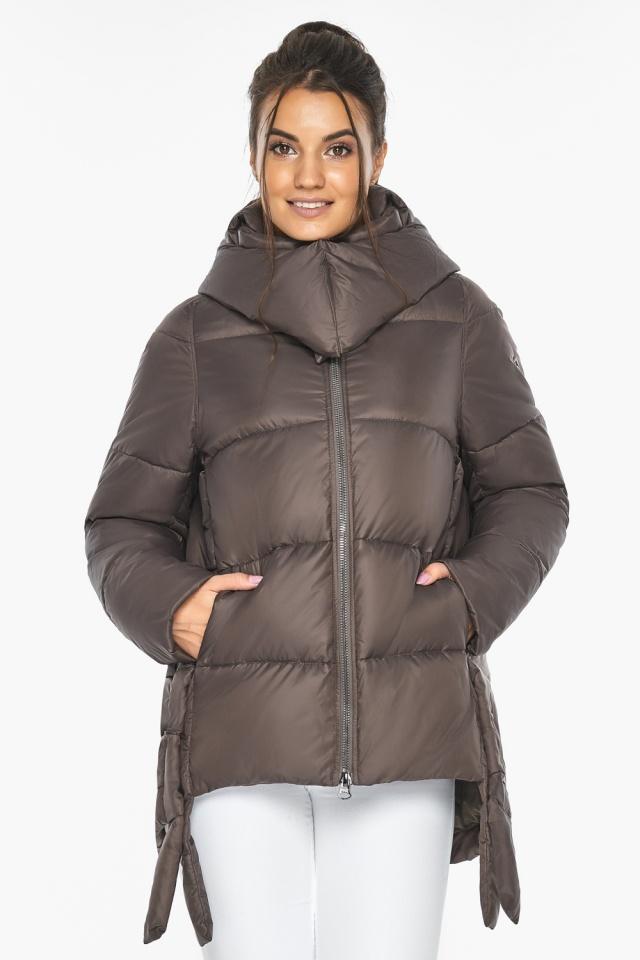 """Оригинальная куртка женская цвет капучино модель 43070 Braggart """"Angel's Fluff"""" фото 5"""