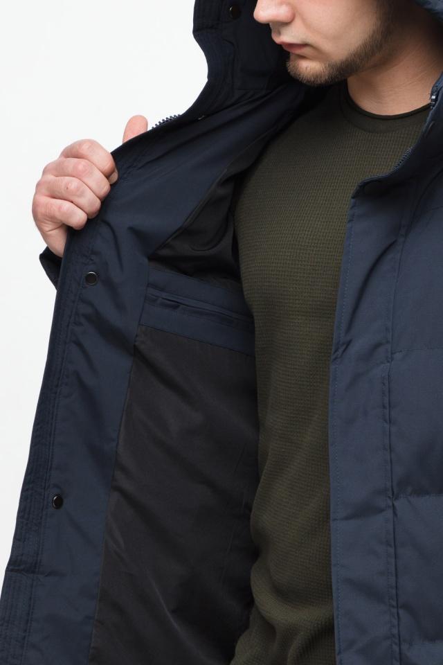 """Куртка мужская с капюшоном синяя зимняя модель 25280 Braggart """"Youth"""" фото 9"""