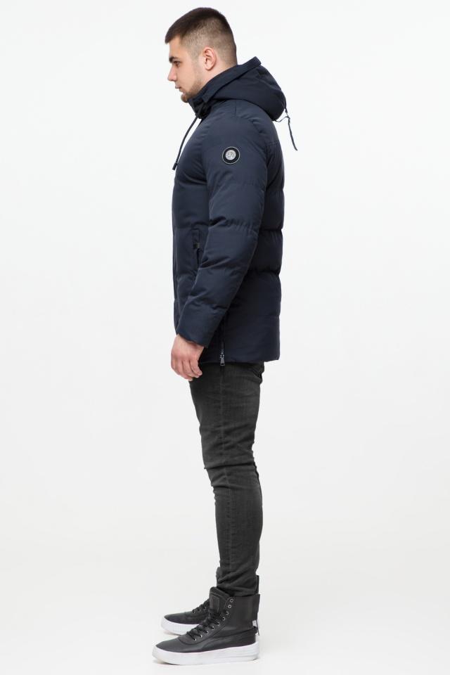 """Куртка мужская с капюшоном синяя зимняя модель 25280 Braggart """"Youth"""" фото 5"""