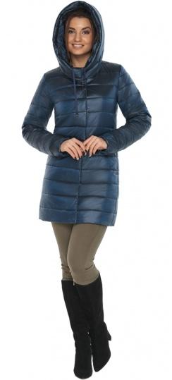 """Куртка комфортная осенне-весенняя женская цвет ниагара модель 65085 Braggart """"Angel's Fluff"""" фото 1"""