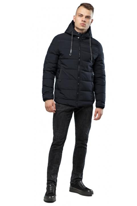 Ефектна куртка на хлопчика чорна модель 6009 Kiro Tokao – Ajento фото 1