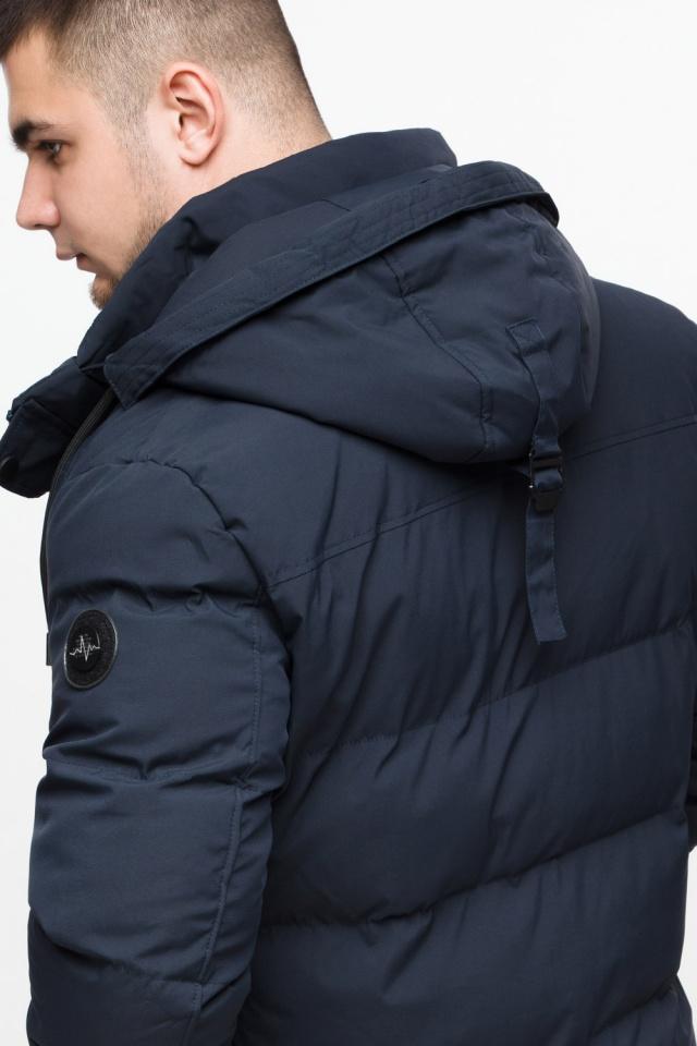 """Куртка мужская с капюшоном синяя зимняя модель 25280 Braggart """"Youth"""" фото 10"""