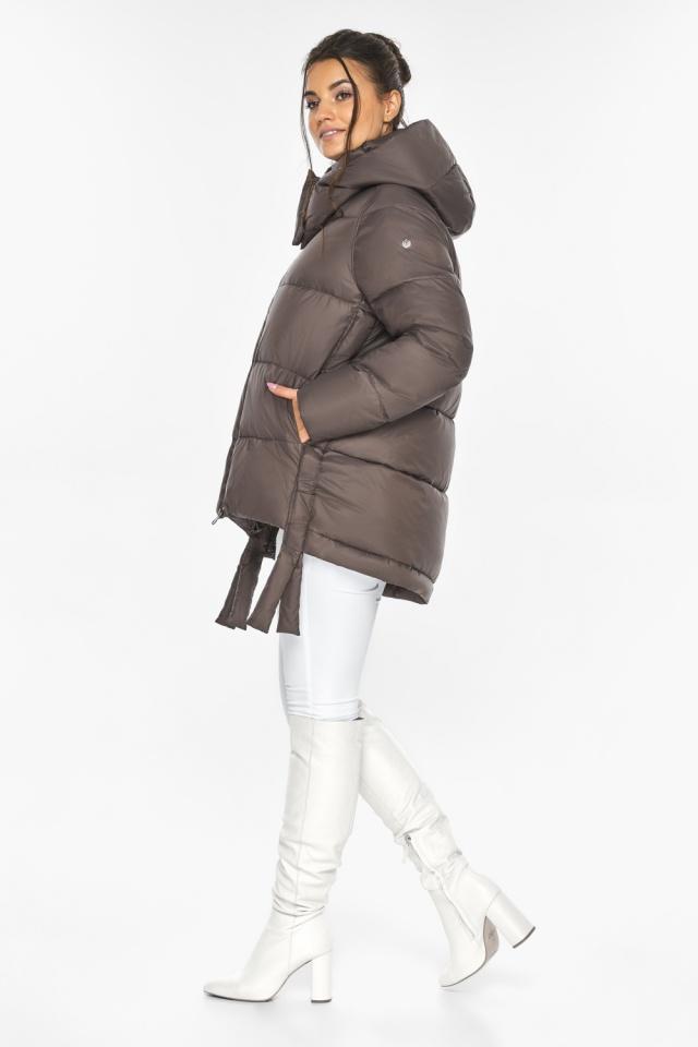 """Оригинальная куртка женская цвет капучино модель 43070 Braggart """"Angel's Fluff"""" фото 4"""