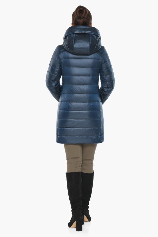 """Куртка комфортная осенне-весенняя женская цвет ниагара модель 65085 Braggart """"Angel's Fluff"""" фото 6"""