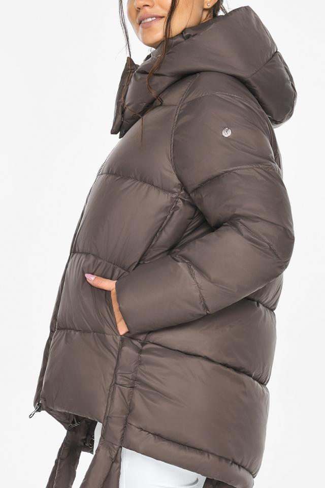 """Оригинальная куртка женская цвет капучино модель 43070 Braggart """"Angel's Fluff"""" фото 9"""