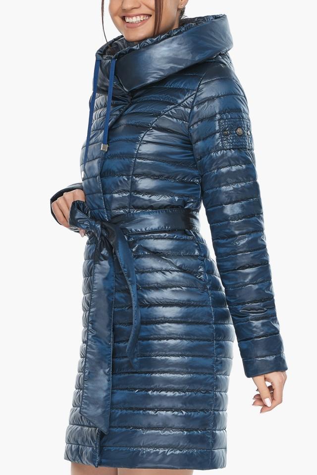 """Брендовая женская куртка осенне-весенняя цвета ниагара модель 66870 Braggart """"Angel's Fluff"""" фото 7"""