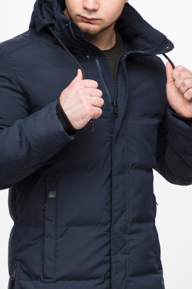 """Куртка мужская с капюшоном синяя зимняя модель 25280 Braggart """"Youth"""" фото 8"""